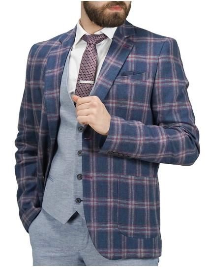 Premium Denim Man Blazer